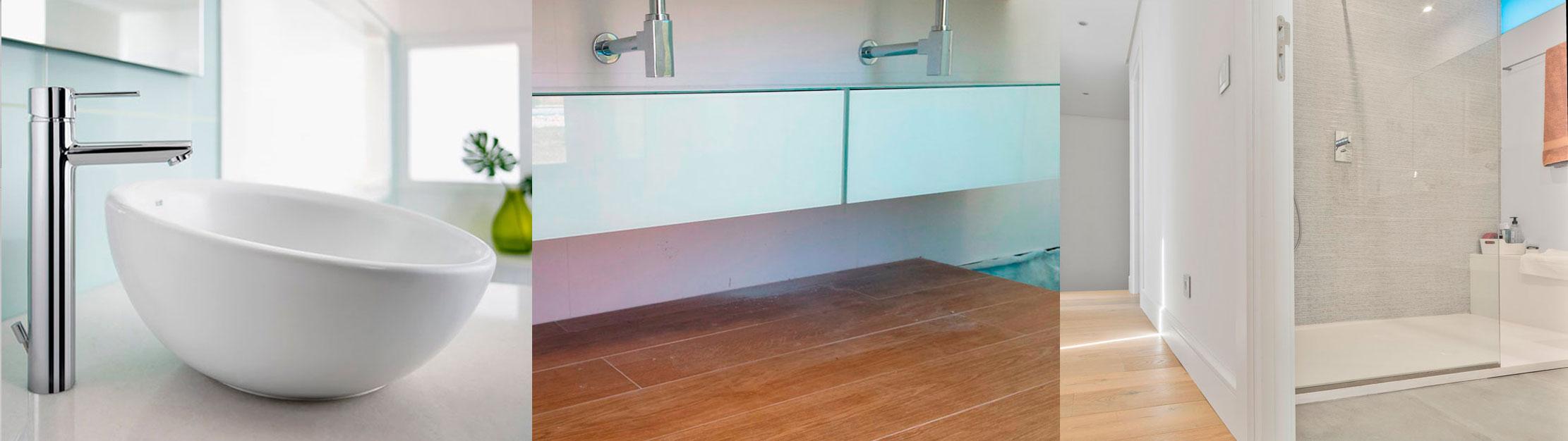 Alta calidad en reformas de lujo para baños.