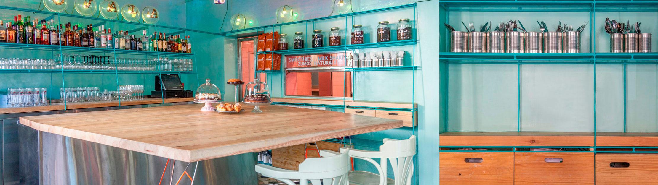 Bar restaurante Ojalá - reforma de lujo.