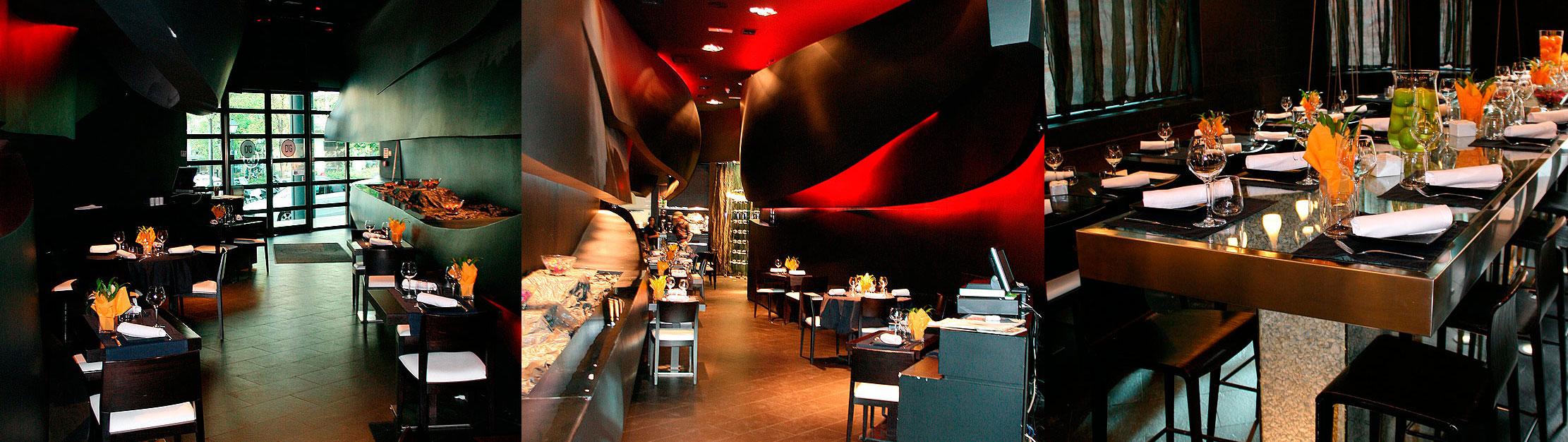Reformas para restaurantes de lujo-Imágenes combinadas.