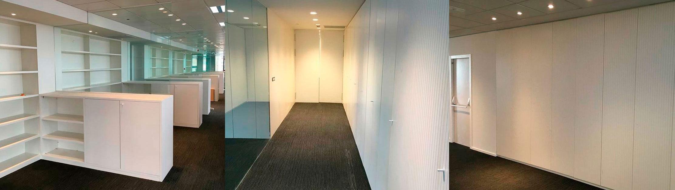 Reformas de alta calidad para oficinas.