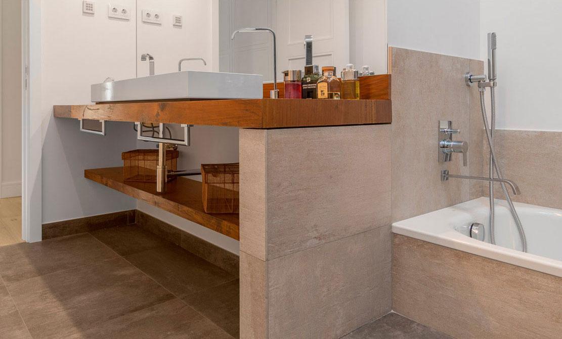 Baños de diseño.
