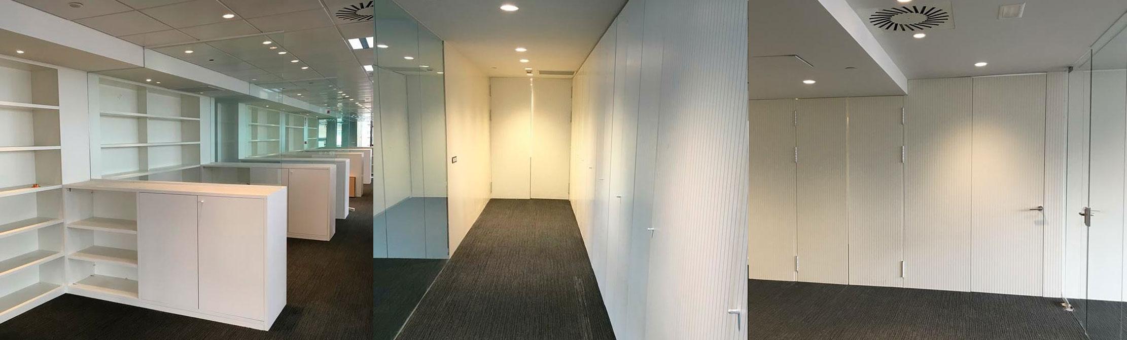 Reformas de oficinas y negocios alta calidad.