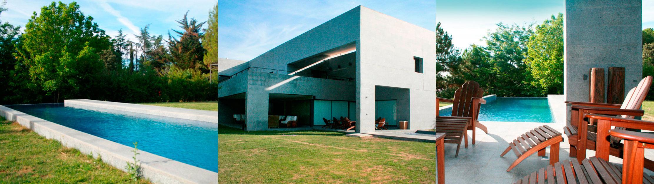 Proyectos de obra de lujo para casas y viviendas de lujo.